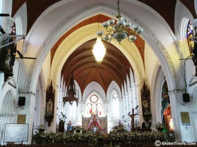 Santhome church also known as St. Thomas basilica in Chennai India