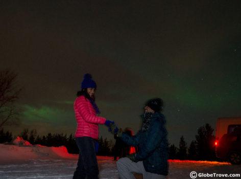 Aurora Borealis in Murmansk Russia