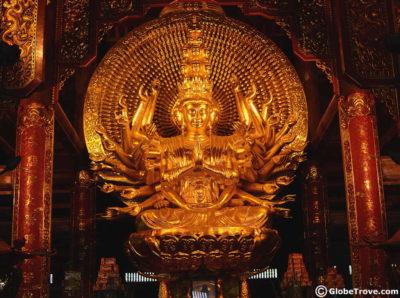 Bai Dinh Temple in Ninh Binh Vietnam