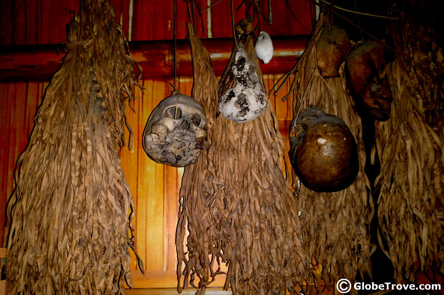 The Sabah museum head hunting