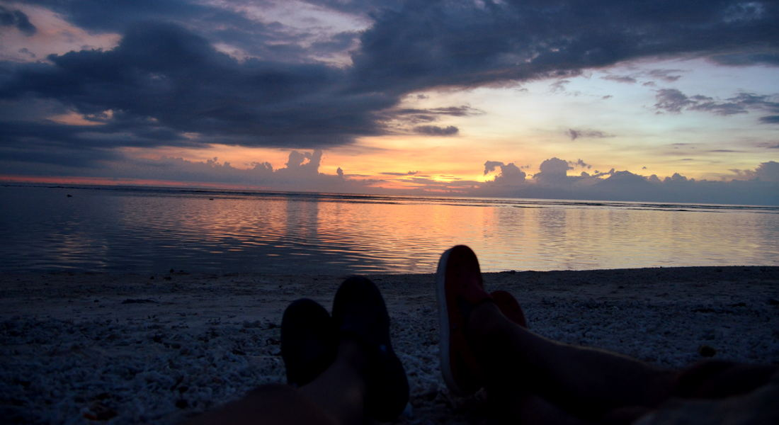 Indonesia Travel blog Gili Sunset