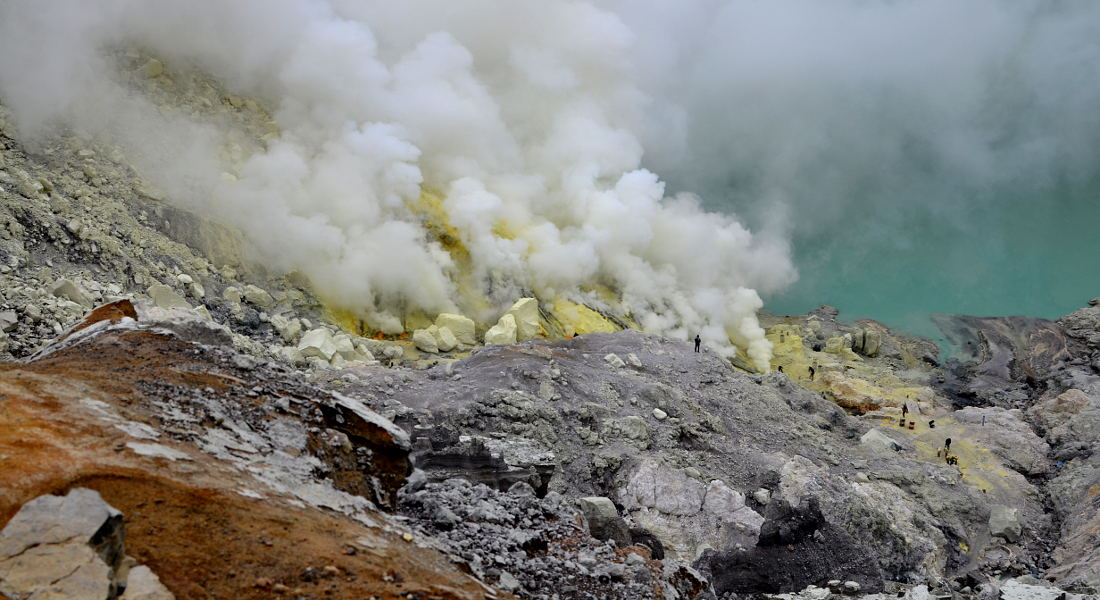 Indonesia Travel blog Ijen Crater