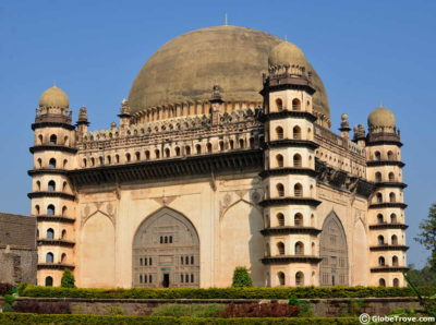 A full view of the Gol Gumbaz