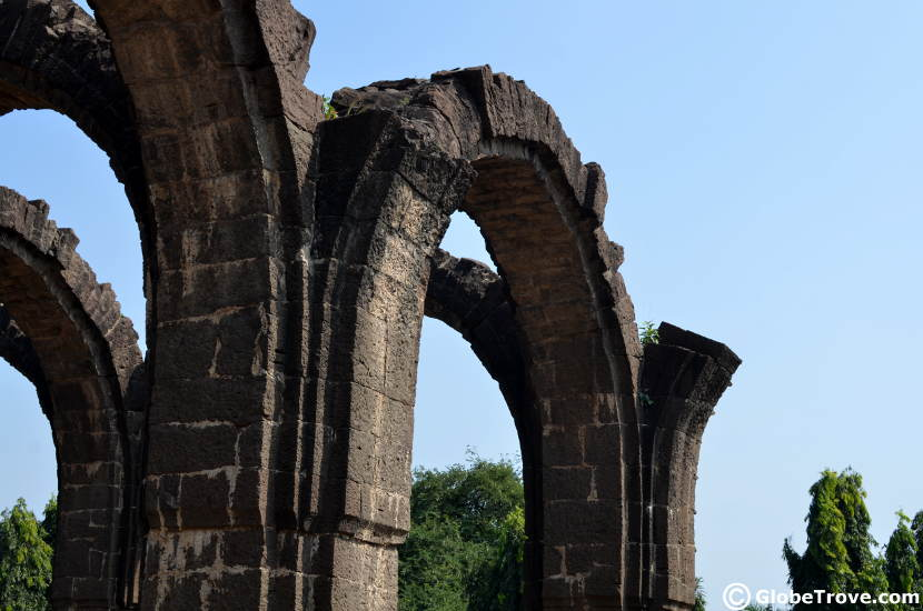 The standing arches of the Bara Kamam makes it one of the impressive historical places to visit in Bijapur