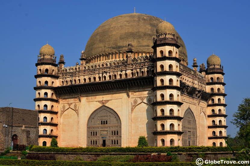 The Gol Gumbaz was one of the highlights on Day 7 of our Bangalore to Nashik road trip