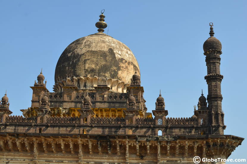 The dome of the Ibrahim Rouza