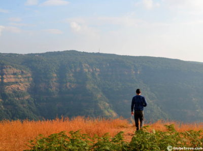 Gazing at the different views from different places to visit in Mahabaleshwar and Panchgani