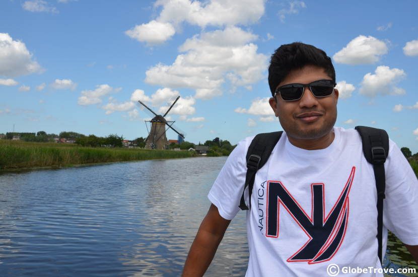 Kinderdijk has such awesome spots for photographs