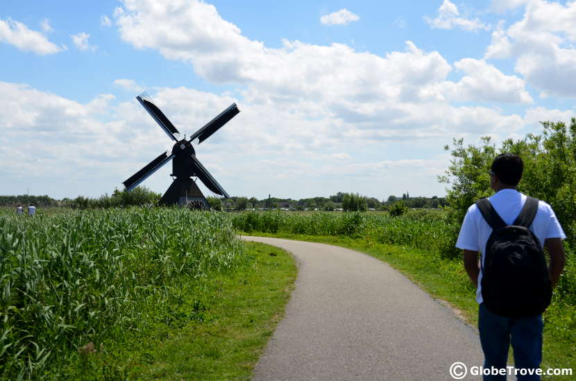 A gorgeous walk through the meadows of Kinderdijk