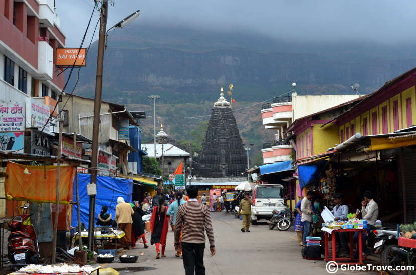 Trimbakeshwar temple is a great day trip away from the city.