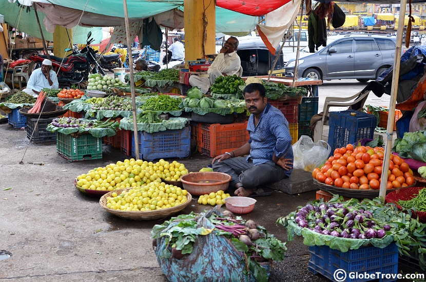 The market is a cool place to visit in Nashik
