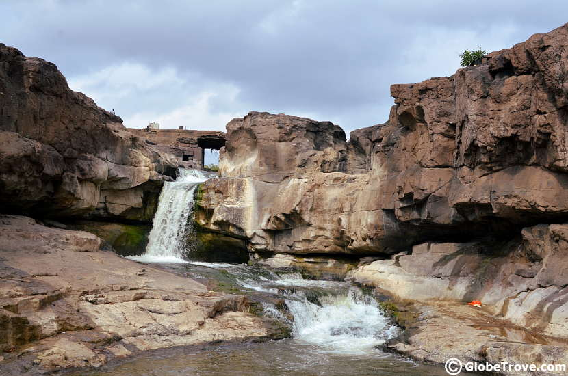 Someshwar waterfalls is a great place to visit on the outskirts of Nashik