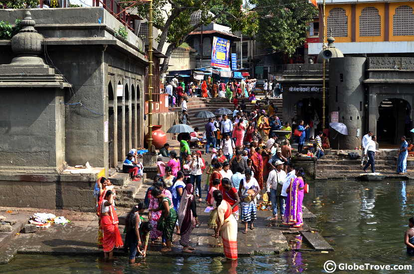 The main temple area is one of the places to visit in Nashik