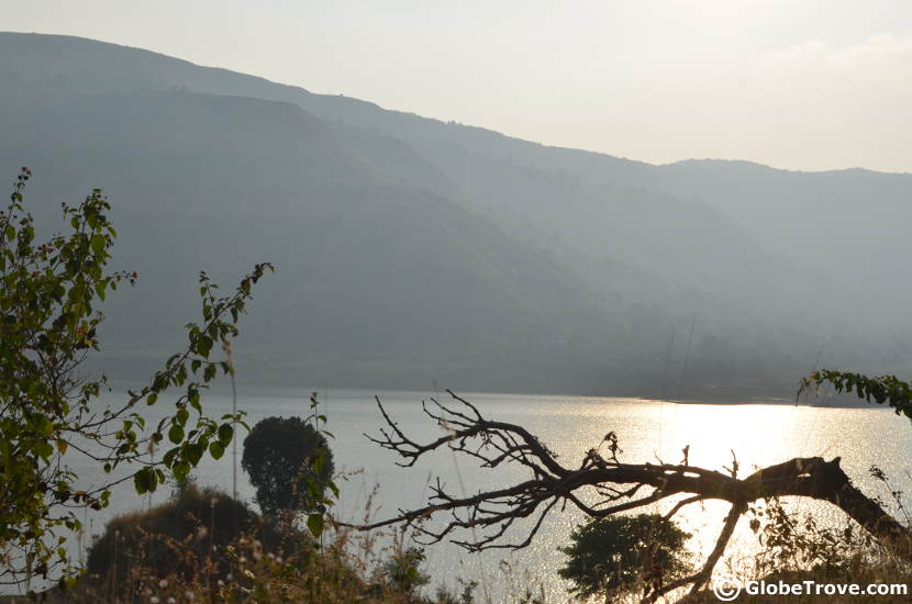 The dam near Mahabaleshwar on our Bangalore to Nashik road trip
