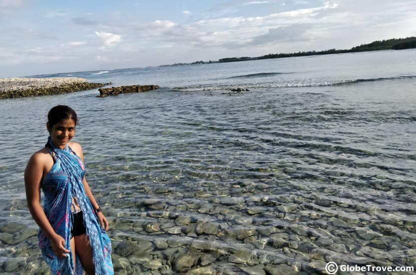 Snorkelling in Addu atoll