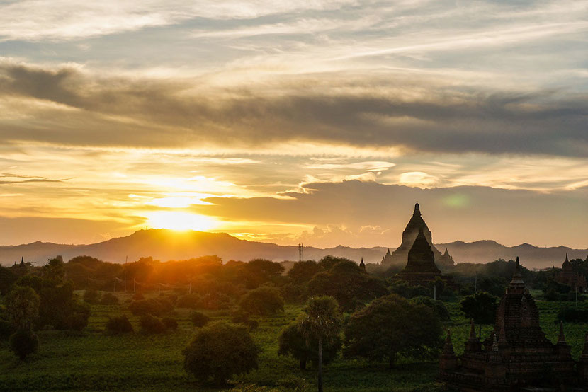 When asked about the best summer destinations in Asia, Teresa chose Myanmar.