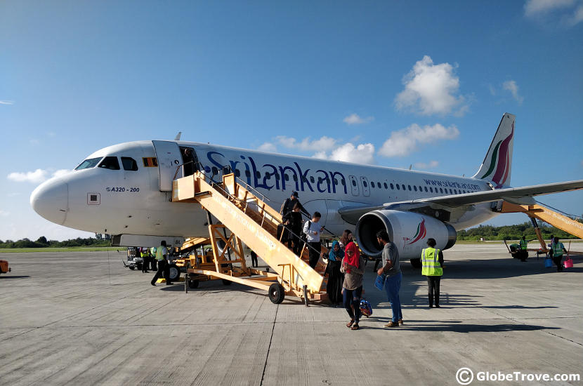 Gan island airport is so beautiful. It is the perfect place to start your Maldives Holidays