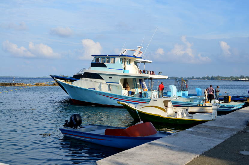 The ferries are a cheap way to move from island to island during your Maldives Holidays.