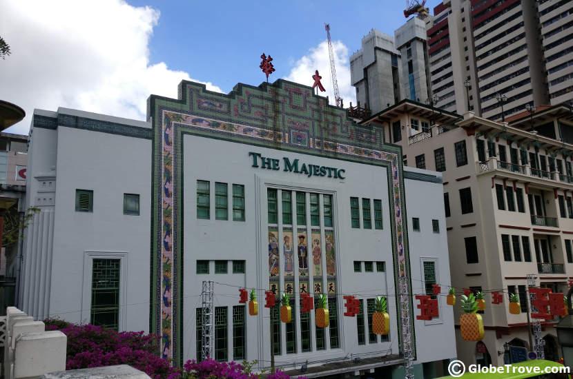 Majestic Theatre in Singapore's Chinatown