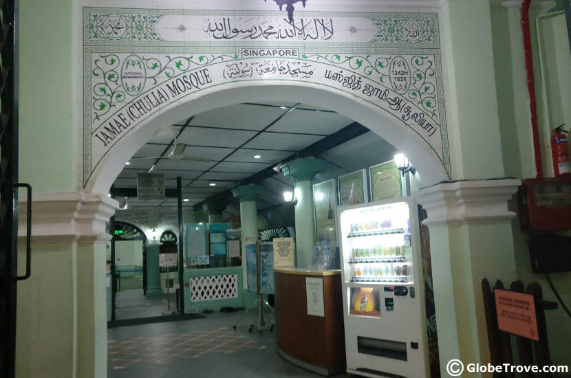 Masjid in Singapore's Chinatown