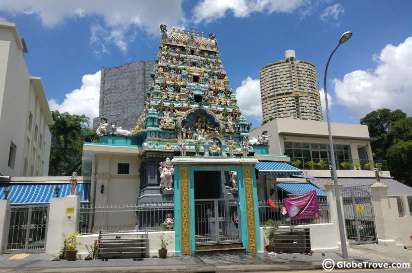 Temple in Singapore's Chinatown