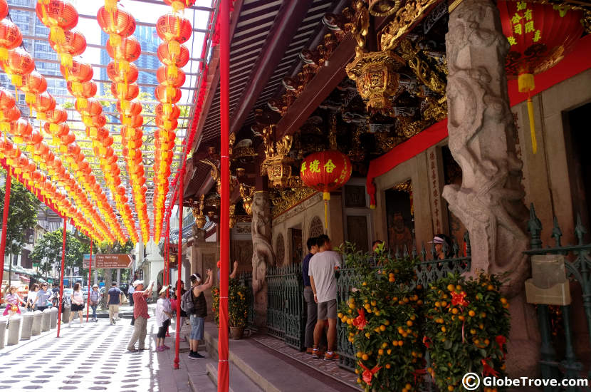 Thian Hock Keng temple in Singapore's Chinatown