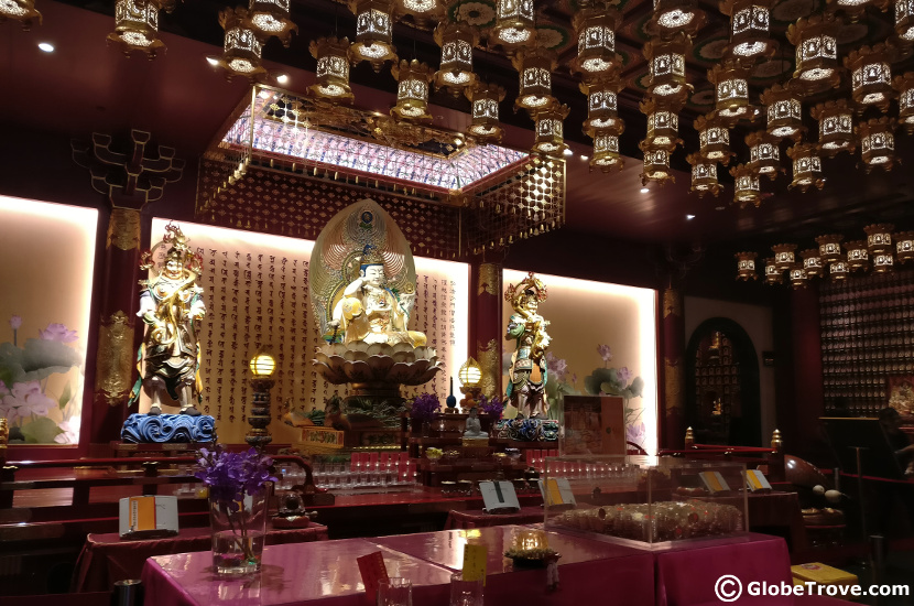 The Kulikah in the Buddha Tooth Relic Temple And Museum