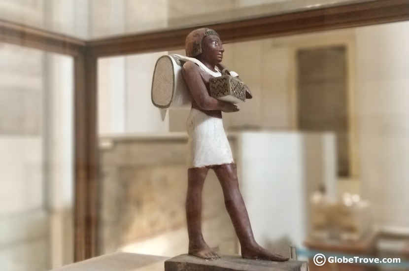 Egyptian museum sculpture