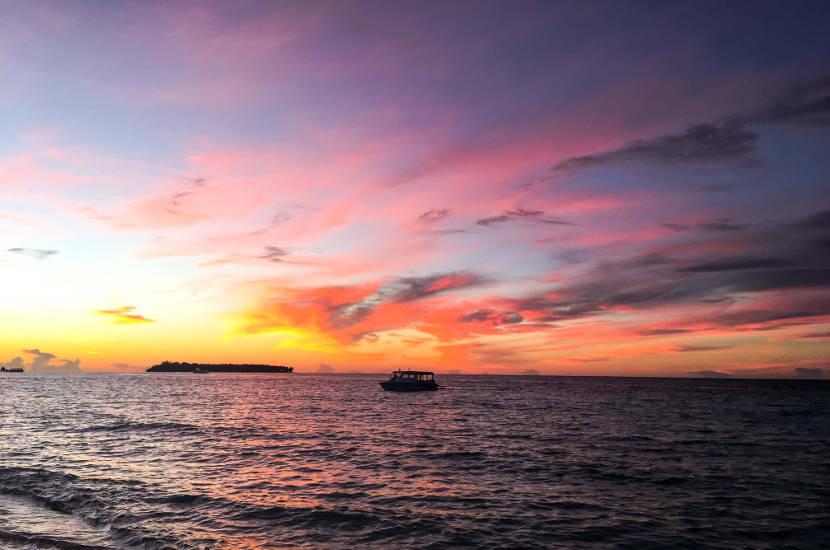 Maafushi island sunsets