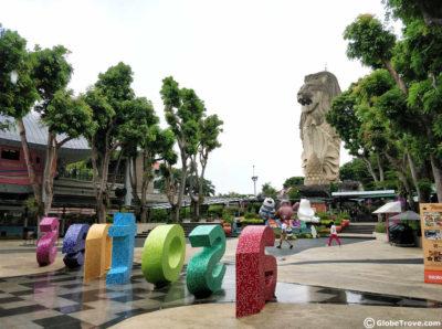 Sentosa island in Singaore