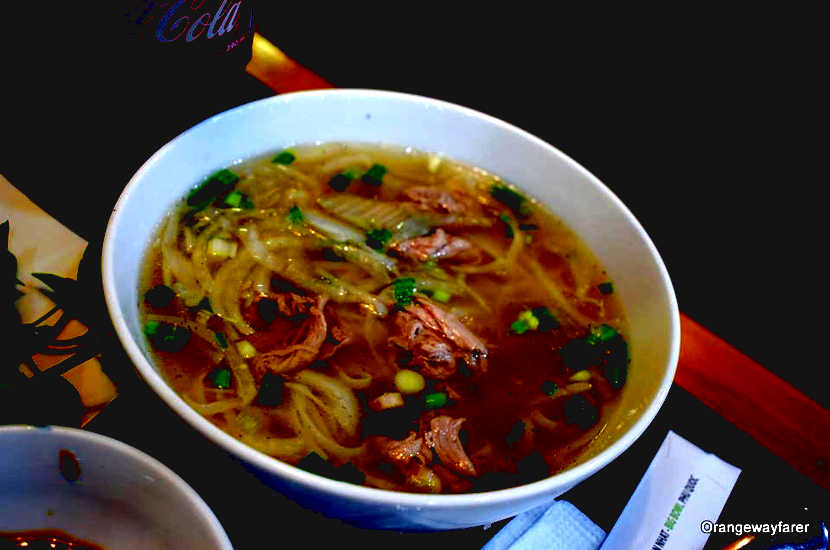 The beef Pho