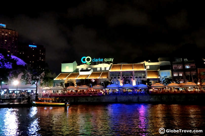 Catch a romantic dinner at Clarke Quay