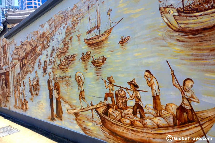 Singapore on a shoestring budget: Singapore's history