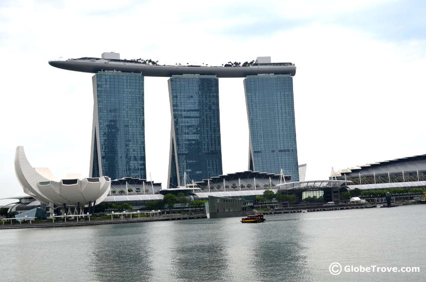 Singapore on a shoestring budget: Marina Bay Sands
