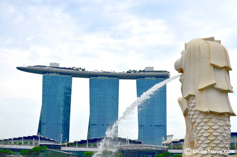 Singapore on a shoestring budget: Merlion