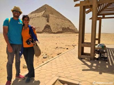 The Pyramids of Dahshur