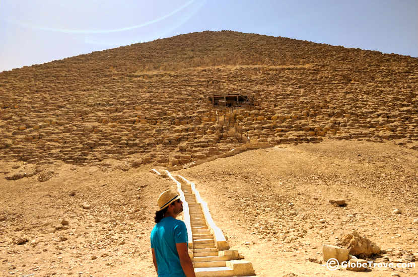 The Red Pyramid at Dahshur