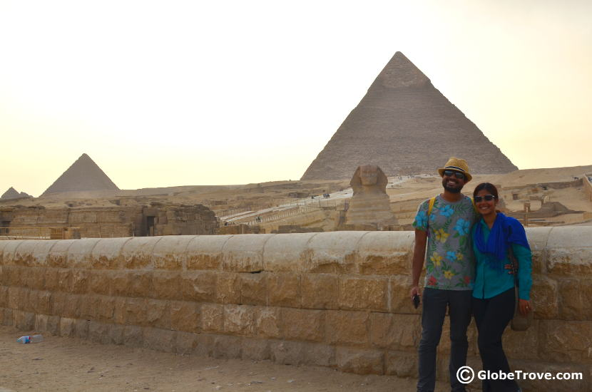 One of the top trips from Cairo takes you to see the Pyramids of Giza