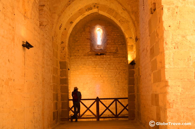 Inside the fort Qaitbey