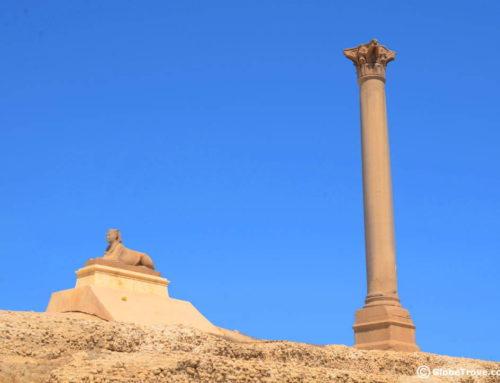 The Secrets Below Pompey's Pillar In Alexandria