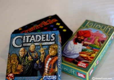 Board Games for travellers