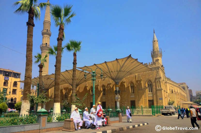 mosques at Khan el-khalili market