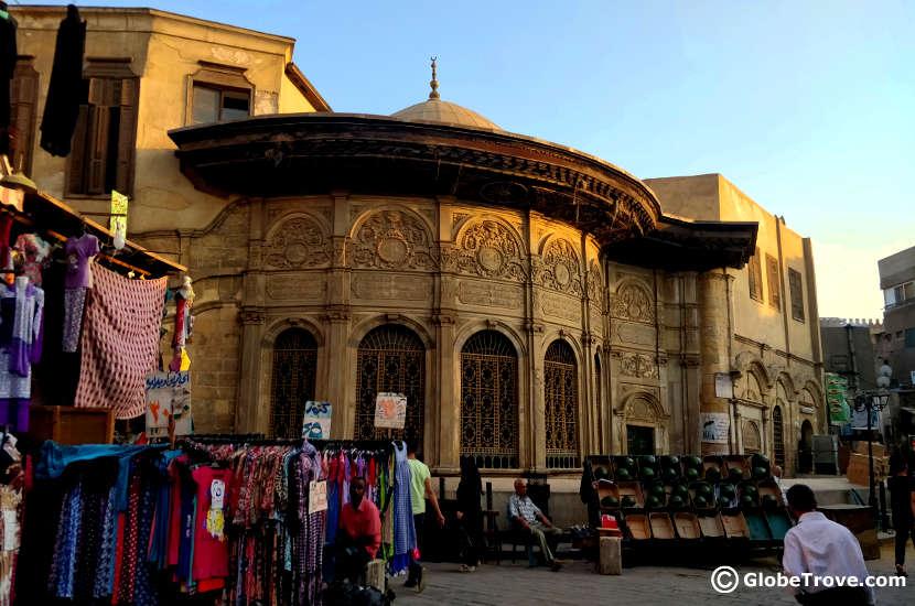 the streets of khan el-Khalili