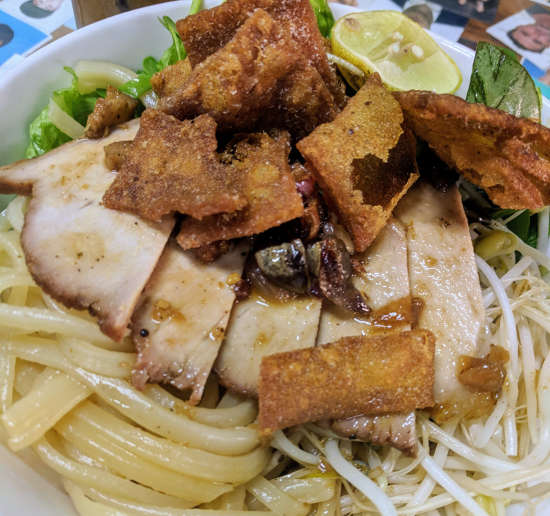 Cao Lầu is definitely something you should add to your list of food in Vietnam!