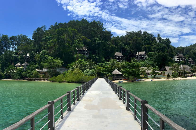 Gaya island has some of the most beautiful beaches in Malaysia