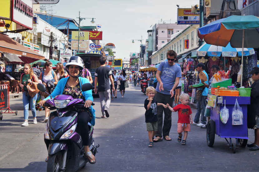 Bangkok, Thailand is one of the best places in South East Asia to travel with kids