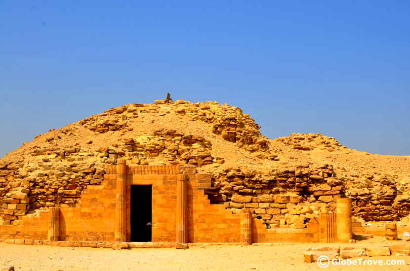 Saqqara is a great road trip from Cairo