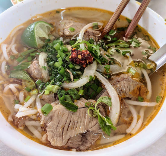 Phở Gà or Phở Bò is definitely something you should add to your list of food in Vietnam!
