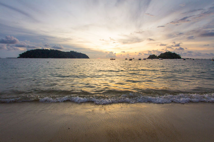Pulau Pangkor is one of the most beautiful beaches in Malaysia