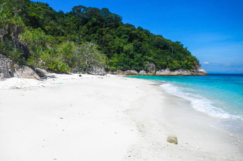 Romantic beach is one of the most beautiful beaches in Malaysia